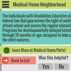 MEDICAL HOME NEIGHBORHOOD